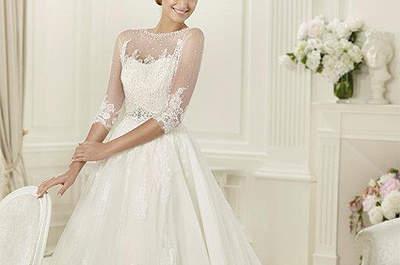 Colecção de vestidos de noiva Pronovias 2013