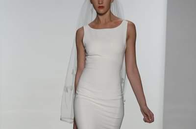 El clasicismo chic de Amsale en la Bridal Week de Nueva York 2015