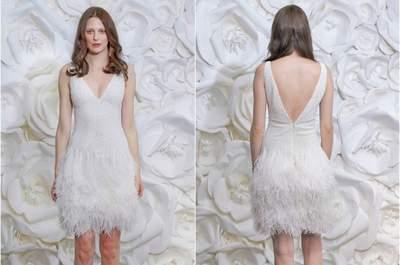 Lo último en vestidos de novia de Naeem Khan 2015