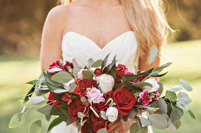 Terciopelo: el tejido estrella para tu matrimonio en invierno. ¡Inspírate con estos diseños!