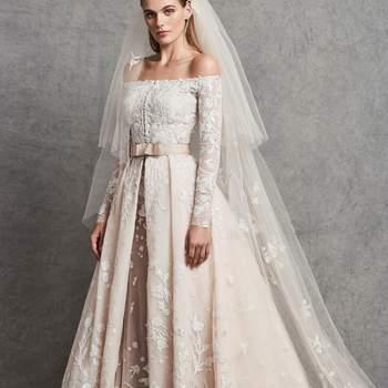 Créditos: Zuhair Murad | Modelo do vestido: Carolina com véu capa