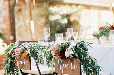 Stoeldecoratie voor jullie bruiloft. Mis deze TOP ideeën niet!