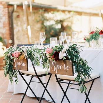 Decoración de las sillas de boda: ¡20 ideas que te encantarán!