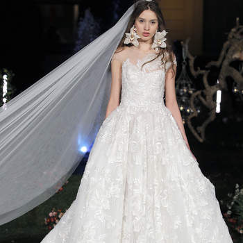 Marchesa. Barcelona Bridal Fashion Week.
