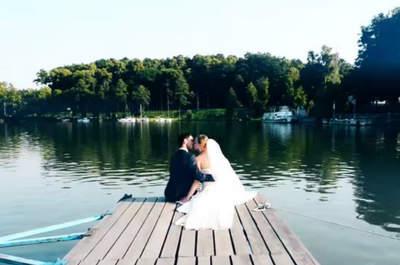 Mazurskie wesele i wideo ślubne! Piękno natury i miłości!