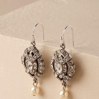 Loraine Earrings. Credits: Bhldn