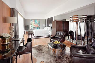 La habitación Gran Deluxe es una de las más lujosas para los huéspedes del Convento do Espinheiro. Foto: Convento do Espinheiro