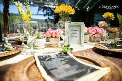 Sommerliche Hochzeitsdekoration 2015: Frische Farben, kreative Details ...