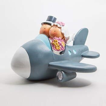 Novios en Avión. ZankyouShop!