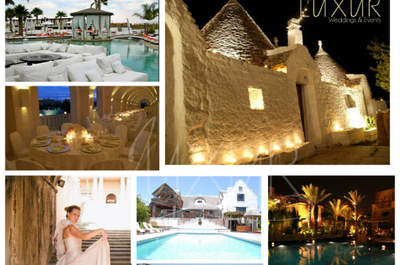 Así será tu boda destino con Luxur Weddings & Events