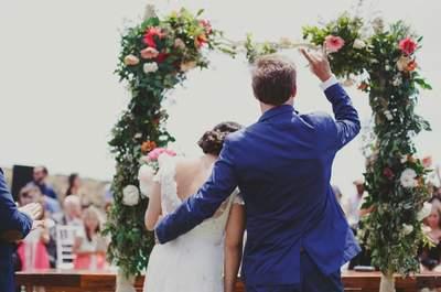 ¿Cómo puedes personalizar tu boda civil? ¡Atrévete, te ayudamos a hacerlo!