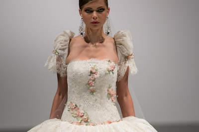 I 20 abiti da sposa con i fiori più belli per il 2014