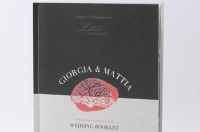 Wedding book di Lettera 22, la storia delle vostre nozze e del vostro amore vive per sempre