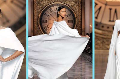 25 robes de mariée à cape pour 2016 ! Laquelle préférez-vous ?