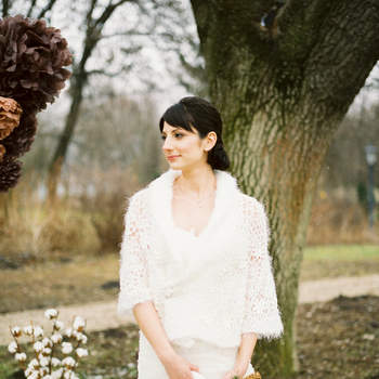 Eine winterliche Hochzeitsfeier. Foto: Bell Studio - Esther&Gabe