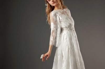 Románticos vestidos de novia de Elizabeth Fillmore para 2014