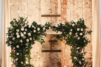 Decoração de casamentos ao estilo industrial. As ideias mais TOP!