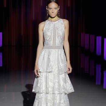 Marylise by Rembo Styling. Credits: Barcelona Bridal Fashion Week(