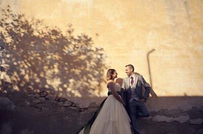 Fotografía de boda diferente, más que imágenes de vuestro gran día