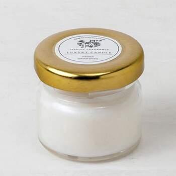 Bougie parfumée dans un pot 6 pièces -  The Wedding Shop !