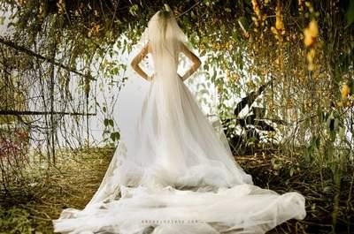 Inspiraciones para decorar el arco del altar en matrimonios de otoño
