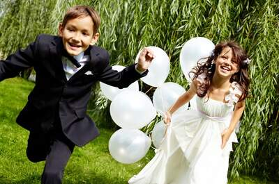 Entertaining your younger wedding guests