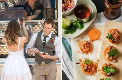 Street food per il tuo matrimonio - Foto via pocketfulofdreams.co.uk