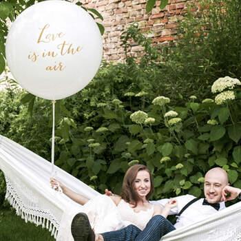 Globo de 1 metro de amor está en el aire- Compra en The Wedding Shop