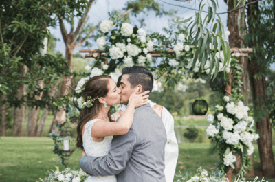 La boda de Diana y Carlos: ¡el amor es un bonito regalo!
