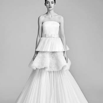Trägerlose Brautkleider für den unvergesslichen Auftritt bei der Hochzeit: Elegant & einfach zauberhaft