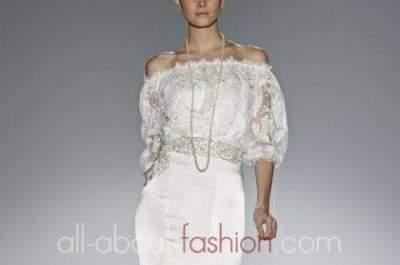 Bestickte Brautkleider – Ein Ausblick auf die Kollektionen 2013