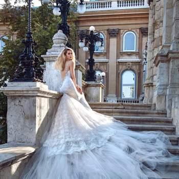 Foto: Modelo Elizabeth de Galia Lahav Haute Couture