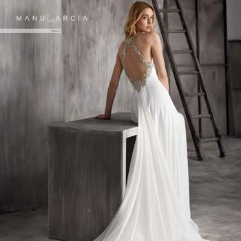 Vestidos de novia Manu García 2018: diseños con gran personalidad