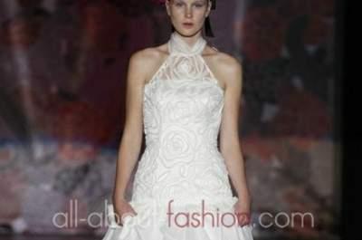 Abiti da Sposa Miquel Suay 2013: un mix perfetto tra classico e futuristico per una sposa di classe