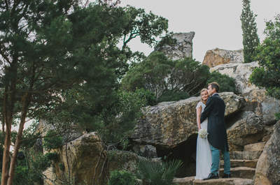 Laetitia y Oliver: una romántica boda a la francesa en Tarifa