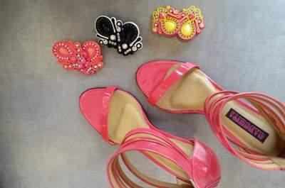 Zapatos color rosa para novia. ¡El nuevo blanco para las novias!