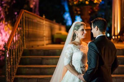 Fernanda & Odilon: casamento clássico SUPER colorido e MÁGICO no Rio de Janeiro