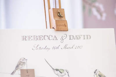 Wow your wedding guests with an original seating plan!