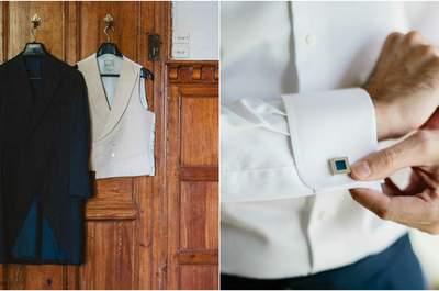 Cómo escoger el look de novio perfecto: traje, complementos y detalles con estilo