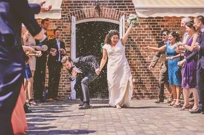 Achtung: 10 Momente, die Ihre Hochzeit in Sekundenschnelle ruinieren können!