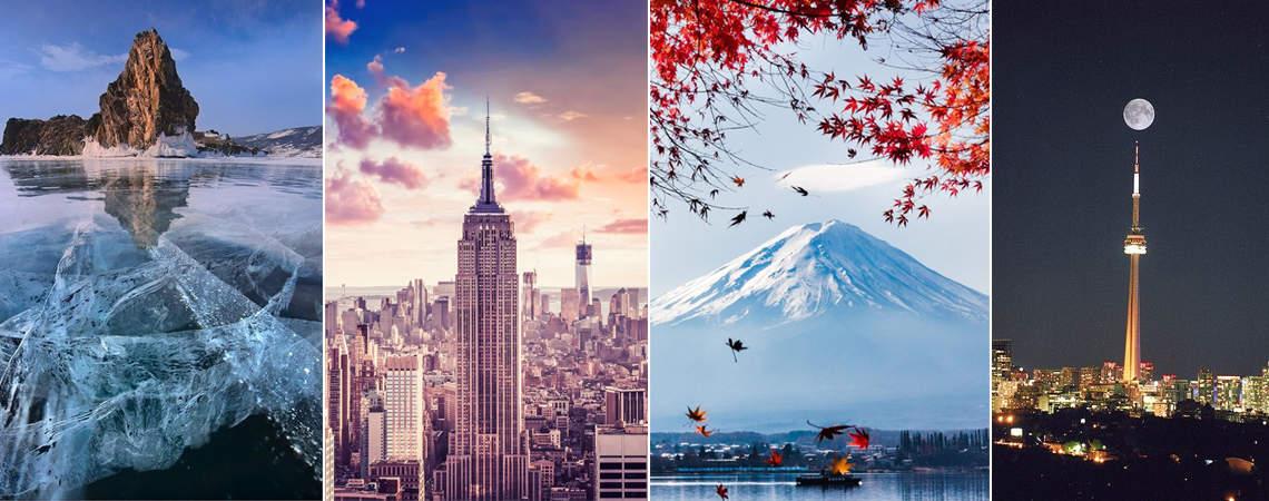 50 maravilhas do mundo para visitar pelo menos uma vez na vida: descubra-as!