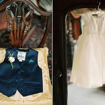 Prendas para los más pequeños de la boda.
