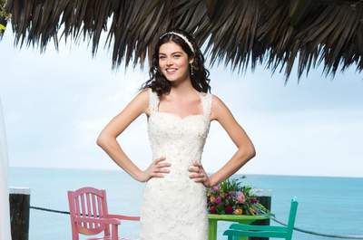 Vestidos de novia románticos con la Colección Sincerity 2014