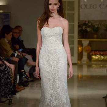 Kleid von OlegCassini, Credits:  New York Bridal Week