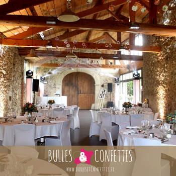 Bulles et Confettis livre ses 10 indispensables déco pour un mariage chic et élégant