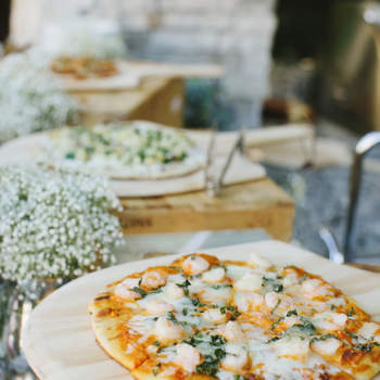 Pizza corner. Credits: Marisa Holmes Photography