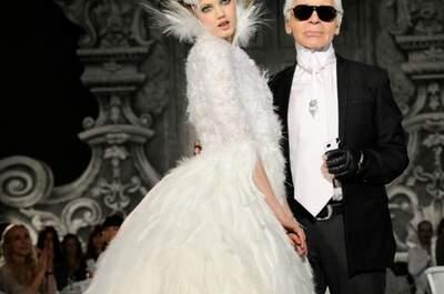 A elegância atemporal de uma noiva Chanel