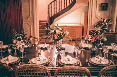 Casamento intimista, com inspiração Art Deco: muito charme e originalidade no seu grande dia