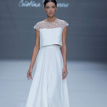 Cristina Tamborero | Credits: Barcelona Bridal Fashion Week
