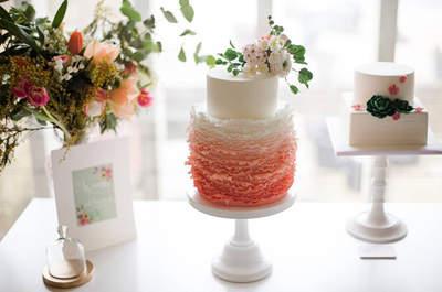 Tendências 2015: Top 5 de sugestões gourmet para bolos de casamento originais